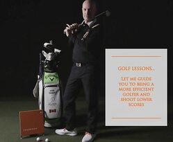 Golf Lessons in Burlington Ontario at The Golfers Academy using Trackman Simulators