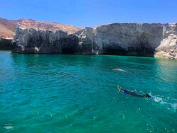 Cavern snorkeling!