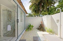 Duplex Villa outdoor shower