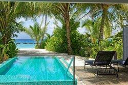 Beach Pool Villa outdoor area