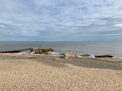 Gunton Warren beach