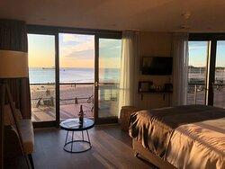 Deluxe Ocean Suite met frans balkon, ligbad en zee/boulevard zicht