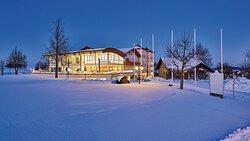 Winteransicht Hanusel Hof