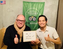He comes during immigration from the United States. 🇺🇸 Thank you so much for continued patronage! We hope your stay in Japan will be a happy and healthy time.