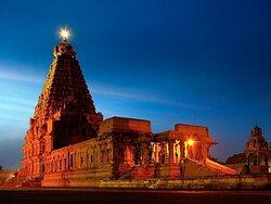 Thanjai big temple