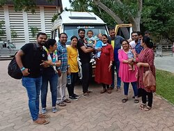 Our Guest From Chennai For Temple Tour 6-days