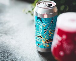 Today's pick from the webshop: Track Brewing Co. Bluzon! ❤️💜💙💜❤️ A 10.0% Triple Fruited Imperial Gose berry bomb made up of blueberry, blackberry & raspberry.  Track use their house sour culture to bring a cheek-puckering tartness, balanced against milk sugar to give that little bit of sweetness to the mix annnnnd not a sign of that 10% ABV! 🚀 Shop all Track beers: https://shop.themutedhorn.com/tag:Track.