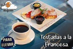 Tostadas a la Francesa. de Lunes a Domingo.