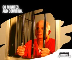 The Jail Break is a 60 minute escape room designed to delight those aged 10+, great for a group of friends, family, team or work mates.