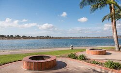Waterview Studio with Fire Pit