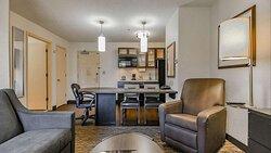 Studio Suite Kitchen and Workspace