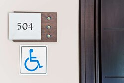 Disabled room
