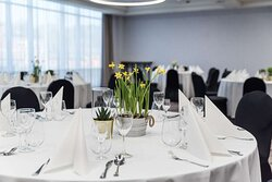 Scandic Gdansk conference meeting room GD AMS KOP banquet detail