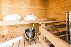 Executive Business Class Room sauna