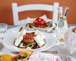 """Horiatiki"" Greek Salad"