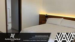Confortables suites en el hotel Auténtico Vertical los Cabos.