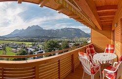 Apartment Tirol Balkon Wilder Kaiser