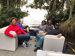 """Cruising The """"Famous Chain of Lakes,"""" aboard Living Water Cruises is a fun filled family adventure 😎🌅🦅🐊🇺🇸"""