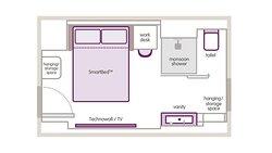 Premium Queen floor plan
