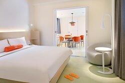 Harris Suite - Bedroom