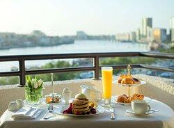 Balcony Breakfast