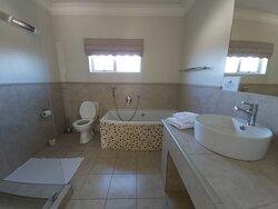 Deluxe bedroom bathroom