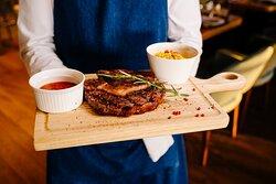 Манящий и сочный стейк-рибай - выбор настоящих ценителей мяса.