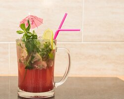 strawberry Moctail