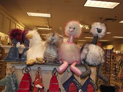 NH - PORTSMOUTH - VOGEL'S – DISPLAY OF JELLYCAT #1
