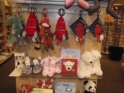 NH - PORTSMOUTH - VOGEL'S – DISPLAY OF JELLYCAT #2