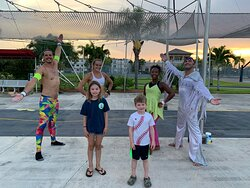 Make time for the trapeze!
