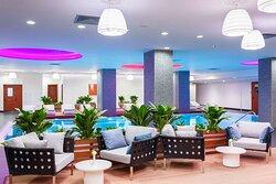 Indoor Pool Spa Lounge