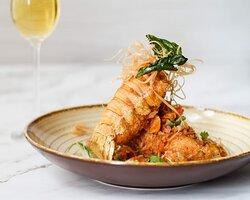 Best seller: Fried Lobster
