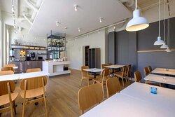Zleep Hotel Prindsen Roskilde, Denmark - Breakfast Area