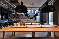 Zleep Hotel Lyngby, Kongens Lyngby, Denmark - Bar and Lounge Area
