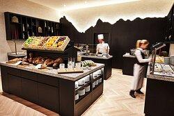 Steigenberger Grandhotel Belvedere, Davos, Switzerland - Breakfast buffet