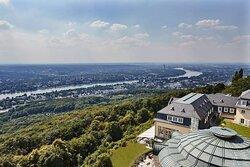 Steigenberger Grandhotel Petersberg, KoenigswinterBonn, Germany - View