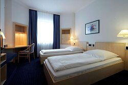 IntercityHotel Ulm, Germany - Handicapped Accessible Room