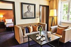 Steigenberger Hotel Bad Homburg, Germany - Suite, living room