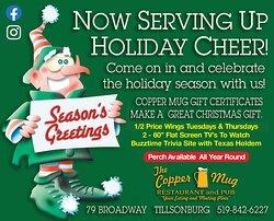 Serving up Holiday Cheer!