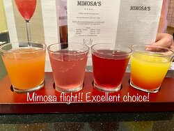 Mimosa's is a hidden gem! We have eaten here 3 times now and everything has been excellent each time.