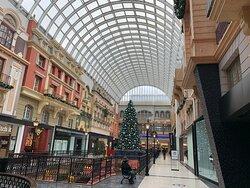 West Edmonton Mall Christmas 2020