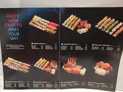 壽司拼盤組合