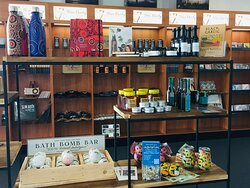 Retail at the Visitor Information Centre