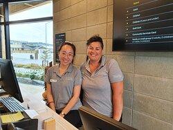 Friendly staff are a credit to He Puna Taimoana!!