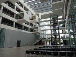Copenhagen, IT University (ITU), arch. Henning Larsen, Ørestad
