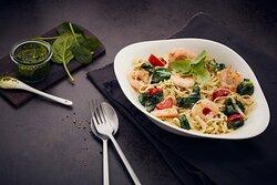 Pasta Gamberetti e Spinaci
