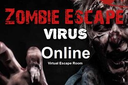 Zombie Virus - Virtual Escape Room  Coming soon 😁