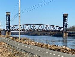 Railroad Bridge about half way
