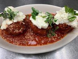 Meatballs Basilico